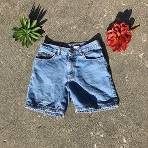 Calvin Klein High Rise Vintage Blue Jean Shorts